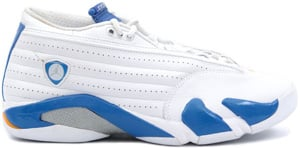 Air Jordan 14 Low White Pacific Blue 2006 Release Date
