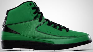 Air Jordan 2 QF Green Black White 2010 Release Date