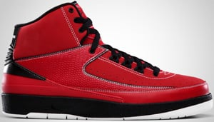 Air Jordan 2 QF Red Black White 2010 Release Date