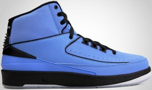 Air Jordan 2 QF University Blue Black White 2010 Release Date