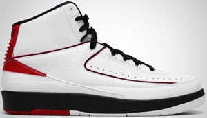 Air Jordan 2 QF White Black Red 2010 Release Date