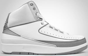 Air Jordan 2 White Silver Grey 2010 Release Date