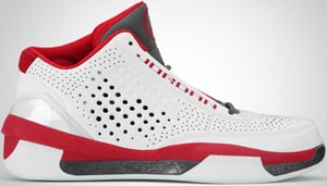 Air Jordan 2010 Team White Red Graphite 2010 Release Date