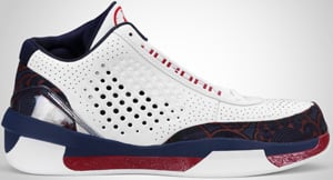 best sneakers 004b6 f5078 Air Jordan 2010 Team White Red Navy 2010 Release Date