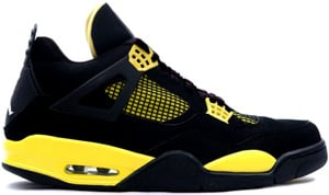 Air Jordan 4 LS Black Tour Yellow White 2006 Release Date