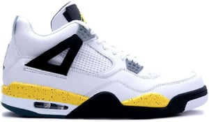 Air Jordan 4 LS White Tour Yellow Black 2006 Release Date