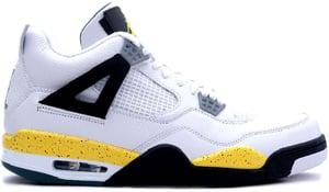 huge discount 6afe9 b0377 Air Jordan 4 LS White Tour Yellow Black 2006 Release Date