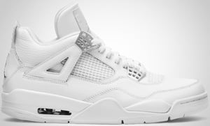 Air Jordan 4 White Metallic Silver 2010 Release Date