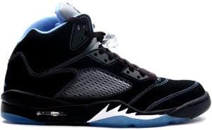 pretty nice c989e 768fa Air Jordan 5 Black University Blue White 2006 Release Date