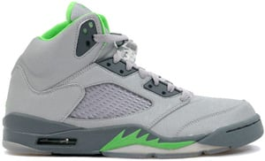 Air Jordan 5 Silver Green Bean Flint Grey 2006 Release Date