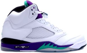 Air Jordan 5 White Emerald Green Grape Ice 2006 Release Date
