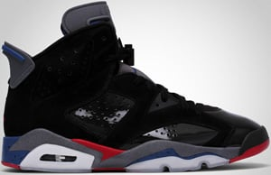 Air Jordan 6 Black Red True Blue Graphite 2010 Release Date