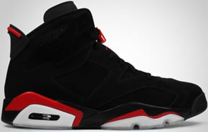 Air Jordan 6 Black Varsity Red 2010 Release Date