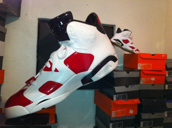 air-jordan-6-carmine-fiber-glass-sculpture-5