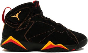 Air Jordan 7 Black Citrus Red 2006 Release Date