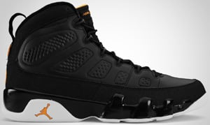 Air Jordan 9 Black Citrus White 2010 Release Date