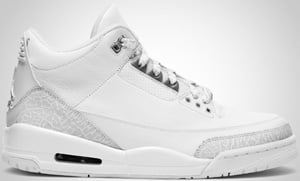 Air Jordan 3 White Metallic Silver 2010 Release Date