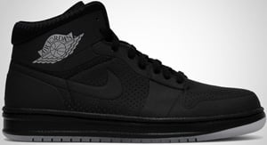 Air Jordan Alpha 1 Black Metallic Silver 2010 Release Date