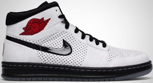 Air Jordan Alpha 1 White Black Red 2010 Release Date