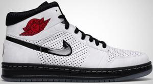 on sale a7395 db344 Air Jordan Alpha 1 White Black Red 2010 Release Date