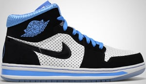 Air Jordan Alpha 1 White Black University Blue 2010 Release Date