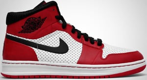 Air Jordan Alpha 1 White Black Varsity Red 2010 Release Date