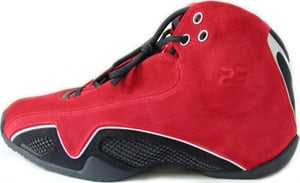 Air Jordan XX1 Red Silver Black 2006 Release Date