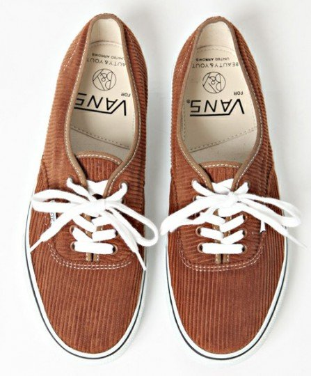 Beauty & Youth x Vans 'Cord' Authentic Pack