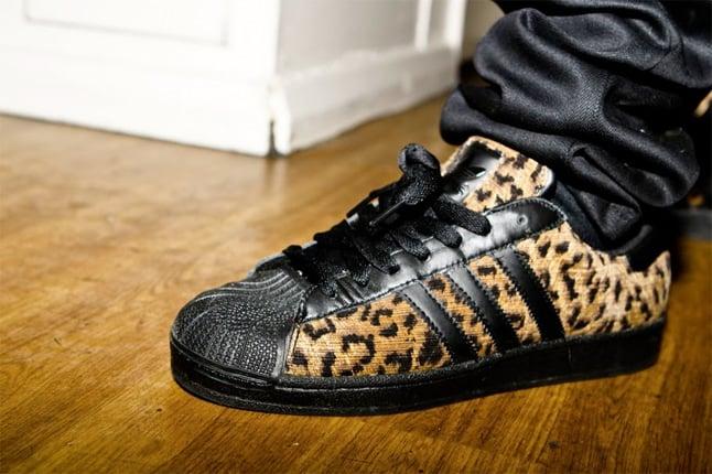 adidas 80s superstar leopard