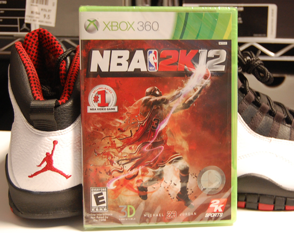 Giveaway NBA 2K12 XBOX 360