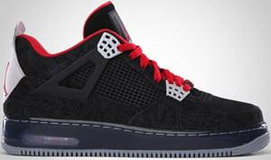 Jordan AJF4 Black Varsity Red Stealth 2010 Release Date