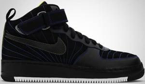 Jordan AJF12 Black Blue Sapphire Cyber 2010 Release Date