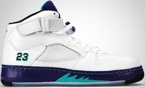 Jordan AJF5 White Grape Emerald 2010 Release Date