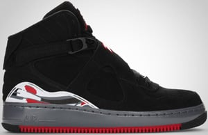 Jordan AJF8 Black Varsity Red Flint Grey 2010 Release Date