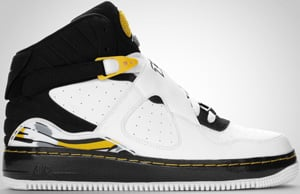 Jordan AJF8 White Black Maize 2010 Release Date