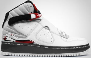 Jordan AJF8 White Black Red Grey 2010 Release Date