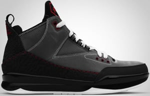 Jordan CP3 Tribute Graphite Red Charcoal Black 2010 Release Date