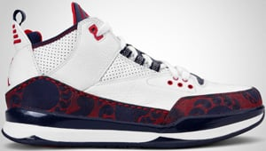 Jordan CP3 Tribute White Red Navy 2010 Release Date