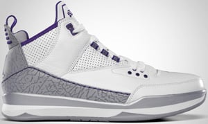 Jordan CP3 Tribute White Varsity Purple Metallic Silver 2010 Release Date