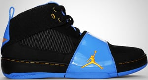 Jordan Future Sole M6 Black Taxi University Blue 2010 Release Date