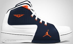 Jordan Melo M6 White Orange Blaze Navy 2010 Release Date