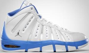 Jordan Melo M7 White Silver Blue Maize 2010 Release Date