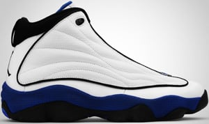 Jordan Pro Strong White Black Blue 2010 Release Date