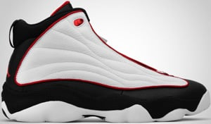 Jordan Pro Strong White Red Black 2010 Release Date