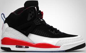 Jordan Spizike Black Blue White Infrared 2010 Release Date