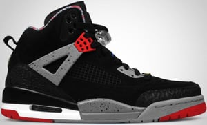 Jordan Spizike Black Red Cement Military Blue 2010 Release Date