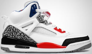 Jordan Spizike White Fire Red Black 2010 Release Date