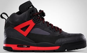 Jordan Winterized Spizike Dark Shadow Black Red 2010 Release Date