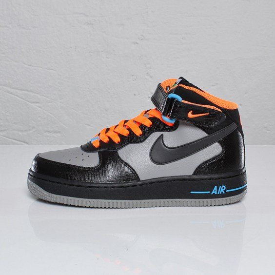 Nike Air Force 1 Mid (GS) - Halloween