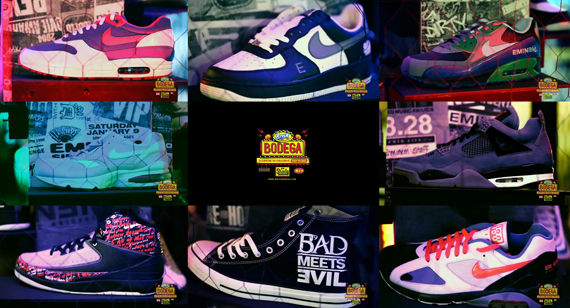 Lipton Brisk Bodega x Shady Records – Eminem's Sneakers Collection | Video